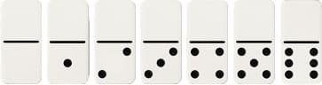 Kartu Domino Seri Nol