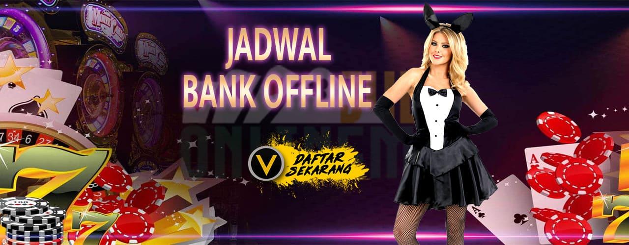 Jadwal Bank Offline dan Online di Indonesia